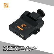 "FX DV08 1/3"" Color CMOS Lens 1080P Video Recorder DV Camera for QAV250 FPV J0X0"