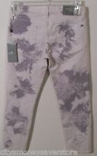 NWT 7 For All Mankind Roxanne Womens Skinny Cropped Jeans 28 Lavender MSRP$178