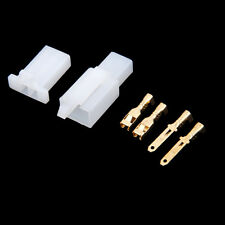 Car Motorcycle Bike 2 Way Electrical Connector 2.8mm Male Female Kit Set