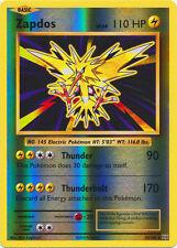 x1 Zapdos - 42/108 - Holo Rare - Reverse Holo Pokemon XY Evolutions M/NM