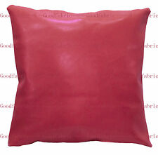 pe+12 Colors Faux Leather Classic Pattern Custom Size Cushion Cover/ Pillow Case