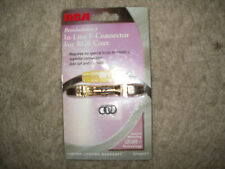 RCA DT60CFT In-Line F-Connector For RG6 Coax New!!!