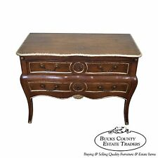 Don Ruseau Custom Quality French Louis XV Style Bombe Commode Dresser