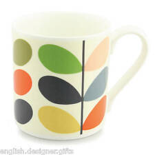 Orla Kiely Multi Stem Large Quite Big Mug - Fine Bone China Gift Box available