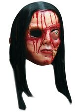 Mask Head Pretty Woman, Full Head Latex Mask with Hair, Adult  Fancy Dress