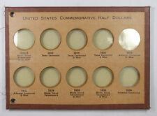Empty Vintage National Coin Album Pages US Commemorative Half Dollar 1935-1936
