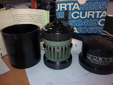 immaculated CURTA CALCULATOR Type II - SN 548525 with original box and manuals