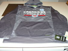 Montreal Canadiens Reebok Gray 2016 Winter Classic Locker Pullover Hoodie Medium