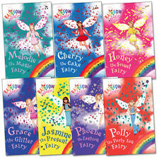 Rainbow Magic Party Fairies Collection Daisy Meadows 7 Books Set 15 to 21 AUS