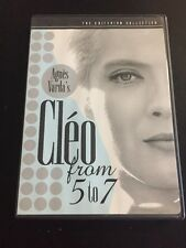 CLEO FROM 5 TO 7 DVD THE CRITERION COLLECTION Agnes Varda