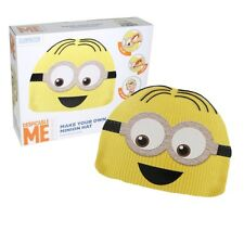 MAKE YOUR OWN MINION DESPICABLE ME BEANIE HAT - CHILDRENS CRAFT SET 28-0061
