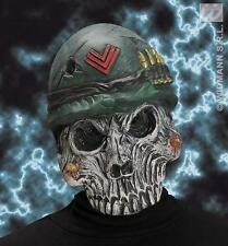 Millitary Esqueleto Máscara Halloween Monster Skull ejército Fancy Dress