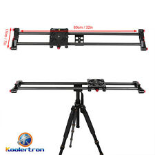 "Koolertron 80cm/32"" Camera Track Slider DSLR Stabilizer Carbon Fiber Rail System"