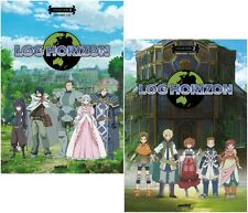 Log Horizon Collections 1 & 2 Complete Series Ep. 1-25 Anime DVD Bundle R1