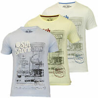 Mens T Shirt By South Shore Short Sleeved
