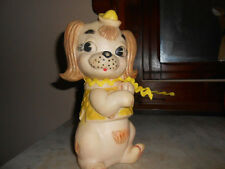VINTAGE COMBEX RUBBER Dog Toy With Squeaker-Made In England