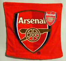 OFFICIAL ARSENAL FC GUNNERS  100% COTTON  FACE  FLANNEL / TOWEL 30CM X 30CM