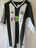 Newcastle United 2001-2003 Home Football Shirt Size XL /10738
