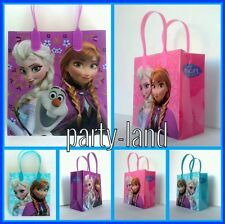 24 DISNEY FROZEN ANNA ELSA OLAF LOOT/GOODY BAGS PARTY FAVORS CANDY BAGS LOT.
