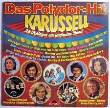 LP (s) - Das Polydor-Hit-Karussell - 28 Schlager am laufenden Band - Potpourris