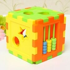 Baby Colorful Block Matching Sorting Educational Toy Intelligence Training Box