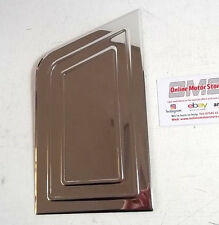 VW TRANSPORTER T5 + GP T6  - CHROME FUEL FLAP COVER TRIM - BEST QUALITY METAL