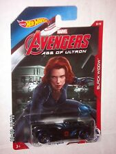 HOT WHEELS  MARVEL AVENGERS  AGE OF ULTRON  16 Angels  BLACK WIDOW  1:64  RARE !