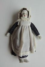 """Vintage Hand Painted Porcelain Doll no Markings 8"""""""