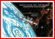 ANTIGUA 1999 RUSSIA SPACE STATION SALYUT S/S SC#2245 MNH **