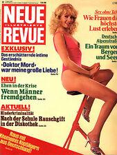 Kult-Zeitschrift NEUE REVUE Nr. 32 v. 1979, Sylt, Überfall Sender Gleiwitz  uvm.