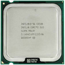 Intel Core 2 Duo E8500 Processor 3.16 GHz 6 MB Cache Socket LGA775