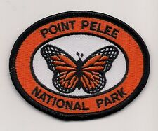 SOUVENIR PATCH - POINT PELEE NATIONAL PARK, ONTARIO - BUTTERFLY