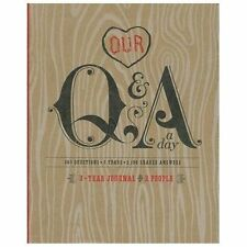 Q&a a Day: 3-Year Journal for 2 People by Potter Style (2013, Diary, Journal, Bl