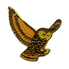Eule Eulen Kauz Käuze Uhu Owl Vogel Tier Badge Metall Button Pin Anstecker 0359