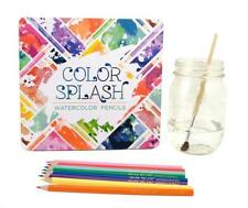 International Arrivals Color Splash Watercolor Pencils, Set of 24 (128-112)