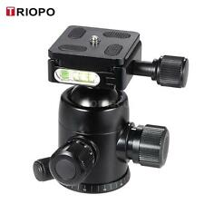 TRIOPO B-2 360° Tripod Ball Head Mount Quick Release Plate for DSLR Camera N7J8