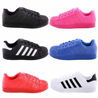 New Womens Ladies Casual Low Top Super Star Style Lace Up Trainer Pumps Shoe