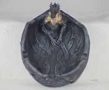 BLACK DRAGON TRAY - GOTHIC SMOKING GIFT - CHRISTMAS PRESENT - TRINKET TRAY