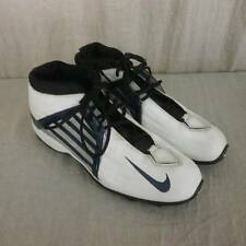 Nike Air Zoom Cleats Alpha Project 302896 White Leather Mens 16