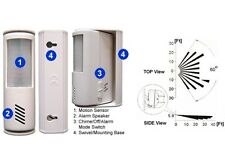 Mini Portable Alarm System With Motion Sensor For Indoor Home Use Mobile Travel