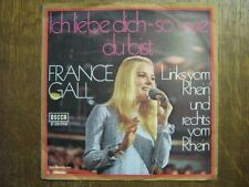 FRANCE GALL 45 TOURS GERMANY ICH LIEBE DICH-SO WIE 2