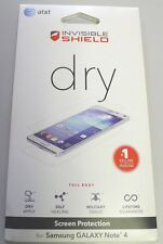 ZAGG Samsung Galaxy Note 4 Invisible Shield Screen Protector Full Body OEM