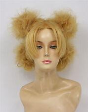 Naruto Temari 4 Ponytails Styled Blonde Cosplay Wig Heat Resistant Hair Wigs