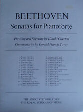 Beethoven Sonatas For Pianoforte G Major Opus 31 No 1 ABRSM Music Book Piano B23