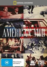 The American Mob  National Geographic (DVD, 2014, 2 Discs) New Region 4