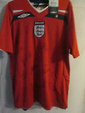 The FA Good old England 2008-2009 Squad Signed Away Football Shirt  /3333