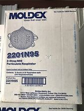 Case 12 Boxes Of 30  Moldex Particle Respirator N95 2201n95 MASK FLU DUST