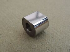 82-7157,TRIUMPH T150 EARLY MODELS, ENGINE PLATE DS REAR SPACER,STAINLESS STEEL,