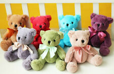 "7.87"" Little Stuffed Animal Teddy Bear Plush Doll Toy Birthday Gift 7 Colors"