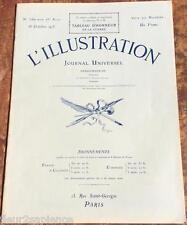 L'illustration N°3789 du 16 octobre 1915 Champagne Serbie Gorges Scott